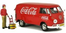 Motorcity Classics 1:24 VW Transporter 1963 Coca Cola + Figure 424062.