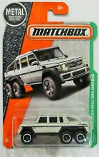 Matchbox 2016 mercedes-benz G63 amg 6x6 white 91 / 125