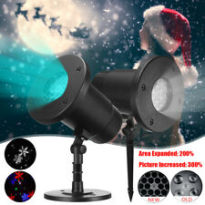 Moving Christmas Projector Lamp Party Outdoor Landscape Light Garden Lawn