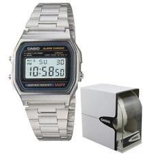Orologio Casio Vintage Retrò Digitale Luce Crono A158WA-1DF