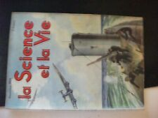 **c La science et la vie n°270 sous marin et guerre sous marine - rayonnement X