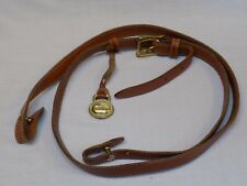 Vintage DOONEY & BOURKE Replacement LEATHER Long SHOULDER STRAP Hang Tag Fob 45""
