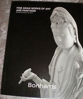 Bonhams Fine Asian Works of Art and Paintings December 19, 2016 brand new