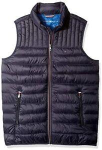 Tommy Hilfiger Men's Lightweight Ultra Loft Quilted Puffer Vest (Standard and