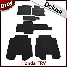 Honda FRV (2004 2005 2006 2007 2008 2009) Tailored LUXURY 1300g Car Mats GREY