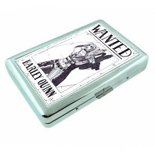 Bad Girl Pin Up D16 Silver Metal Cigarette Case RFID Protection Wallet