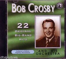 BOB CROSBY ORCHESTRA Original Big Band CD Great Anthology REMASTERD LAZY MOOD