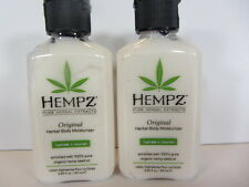 2 PACK - 2.25 OZ. SUPRE HEMPZ ORIGINAL MOISTURIZER AFTER TANNING LOTION
