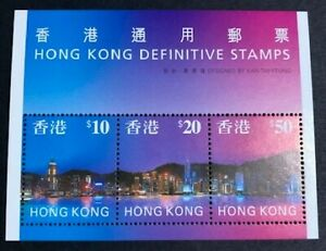 1997 - Hong Kong - High Value Definitive Stamps - Mini Sheet - Unmounted Mint.