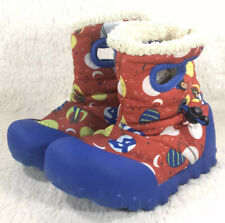 BOGS BMOC Space Boots Toddlers Boys Waterproof Insulated Pull On Rubber Size 11