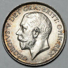 1911 KING GEORGE V GREAT BRITAIN SILVER SHILLING COIN