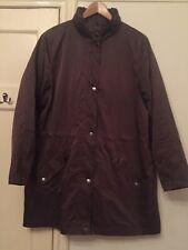 Four Seasons GREEN Showerproof Ladies Coat. Size XL (16/18). Excellent Condition