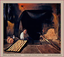 Baker of Asilah, Morocco -ORIGINAL signed and numbered by master Michael Seewald