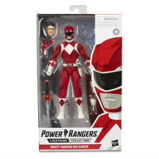 "Power Rangers E7755 Lightning Collection 6"" Mighty Morphin Red Ranger Action Toy"