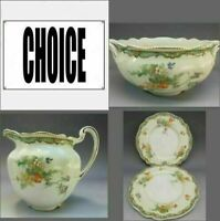 Rare Old Staffordshire Ningpo Johnson Brothers England Porcelain Your Choice