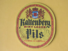 Kaltenberg Pils DIAT Lager BEER MAT COASTER BREWERIANA Whitbread Brewery Bavaria