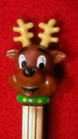 PEZ DISPENSERS / Christmas REINDEER 2002 -/ WILL COMBINED POSTAGE