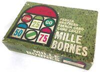 Vtg 1960 Mille Bornes Card Game Complete in Original Box- Parker Brothers #A4