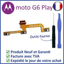 NAPPE INTERNE DES BOUTONS POWER ON OFF ET VOLUME + - DU MOTOROLA MOTO G6 PLAY