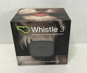 Whistle 3-GPS Pet Tracker - Gray Open Box