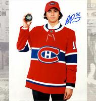 Alexander Romanov Montreal Canadiens Draft 2018 Autographed 8x10