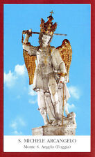 SANTINO - HOLY CARD- IMAGE PIEUSE -S.Michele Arcangelo  Monte S.Angelo Foggia