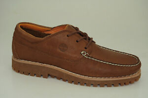Timberland Jacksons Landing Oxford Boat Shoes Lace Up Moccasins