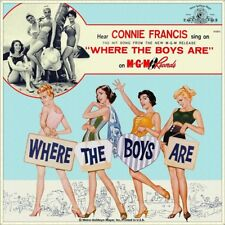 """7"""" CONNIE FRANCIS Where The Boys Are OST YVETTE MIMIEUX 45rpm MGM US-Press 1960"""
