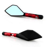 2pcs Universal 8mm/10mm Motorcycle Mirrors Motor Scooter RearView Side Mirror