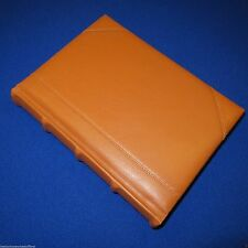 Medieval Leather JOURNAL Diary - Lined Gilded Pages - HONEY BROWN (NOT BLACK)