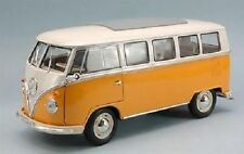 1/18 Welly volkswagen vW bulli T1 BUS 1963 Microbus Yellow/white-neu