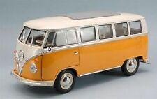 1/18 Welly Volkswagen VW Bulli T1 Bus 1963 Microbus yellow/white-neu in ovp