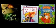 Children's Book Lot Of 3 Mixed Titles Like New