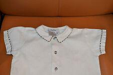 blouse baby dior magnifiqe 18 mois 100% DE LIN adorable PORT GRATUIT