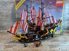 Lego Pirates Vintage 6285 Black Seas Barracuda With Box & Instructions