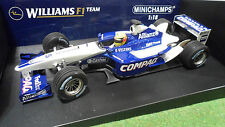 F1 WILLIAMS BMW FW24 2002 Schumacher 1/18 Minichamps 100020005 voiture miniature