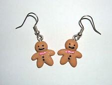 Ohrringe Lebkuchenmann Weihnachten Gingerbread Lebkuchen Advent Gebäck Earring