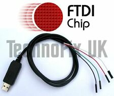 FTDI USB a la Consola Serial Ttl/cable de depuración para Raspberry Pi (Windows 8 y 10)