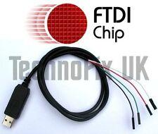 FTDI USB to serial TTL console/debug cable for Raspberry Pi (Windows 8 & 10)