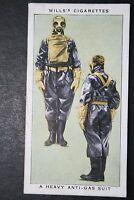 Heavy Anti- Gas Suit    British Decontamination Squad  Vintage Card # CAT J