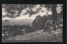 L@@K  Leyburn From The Shawl 1900's ? Postcard ~ Yorkshire ~ FAIR QUALITY CARD