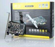 Timeleak HD75A 1080P PCI-E HDMI Converter Video Capture Card Windows 7 64bit