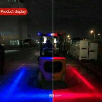 30W LED Forklift Truck RED/Blue  Line Warning Lamp Safety Working Light IP65