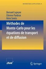 Mathématiques et Applications Ser.: Méthodes de Monte-Carlo pour les...