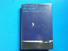 John D MacDonald The End of the Night  1st HCDJ Fine/Near Fine