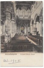 Wolverhampton; St Peter's Church Interior PPC, Unposted, From Wrench Series