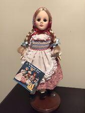 "Effenbee "" Wonderful World Of Doll Collection Heidi"