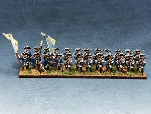 15mm Seven Years War SYW painted Mecklenburg-Schwerin Alt-Zülow Infantry MAA4