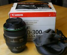 Canon EF 70-300mm, DO, IS USM, excellent condition