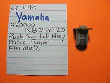Yamaha Nb093920 Push Switch Cap Cr-640 Cr-840 Cr-1040 Cr-440 Stereo Receiver